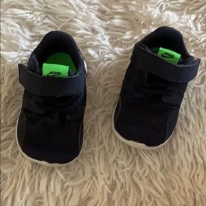 Nike baby shoes navy new toddler sz 3